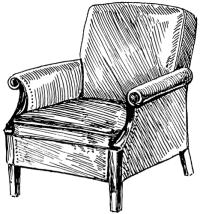 armchair_BW