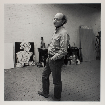 Robert Miller (American, born 1948), Robert Hanson - Painter/Printmaker, 1984, gelatin silver print, Gift of the artist, © Robert Miller, 2012.164.16